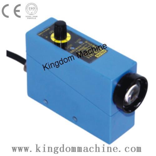 Capteur de cellule photoélectrique pour machine à sacs en plastique