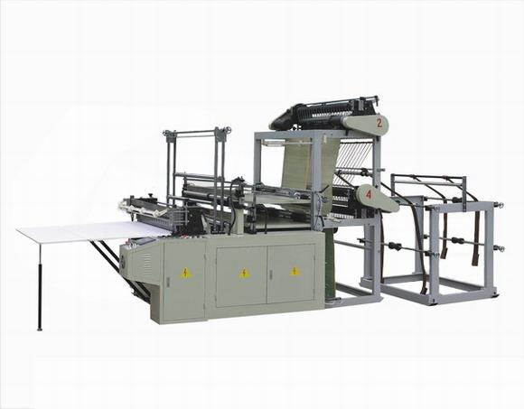 Пакетоделательная машина для производства пакетов в стопе