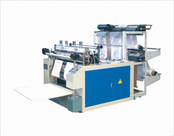 Одноручьевая пакетоделательная машина для производства пакетов «майка» с «горячим» ножом