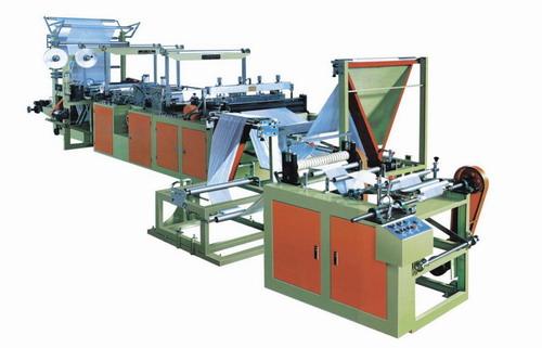 Пакетоделательная машина для производства фасовочных пакетов, мусорных мешков в рулоне