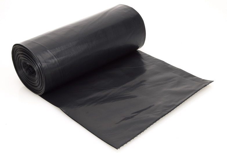 Black Bin Bags On Roll